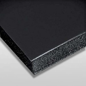 3/16 Black Buffered Foam Core Boards
